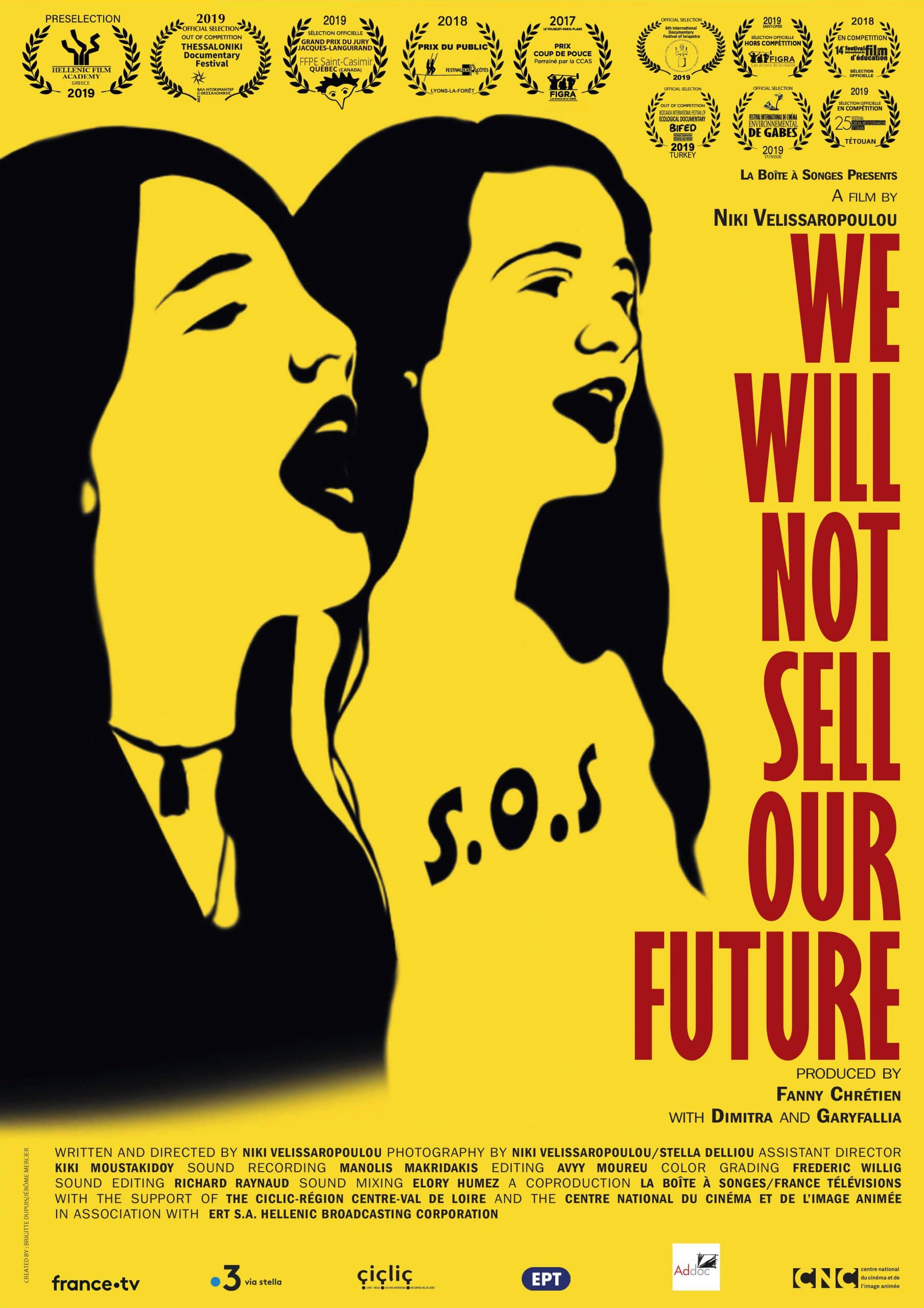 Poster of the movie We will not sell our future